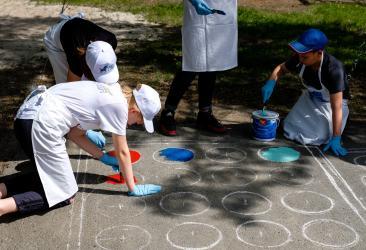 День защиты детей - яркие краски, творчество и улыбки