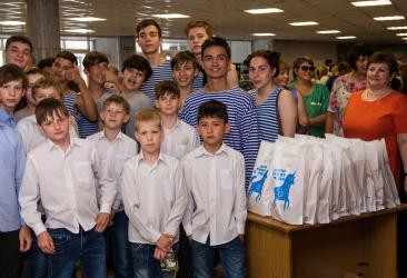 31 мая в Челябинске состоялся детский фестиваль «Лестница успеха»