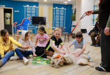 Канистерапия для детей из социальных центров Екатеринбурга