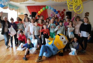 Праздник именинника в Социально-реабилитационном центре для несовершеннолетних