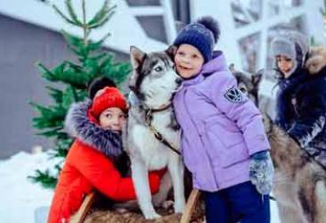 Спектакль, квест и хаски в упряжке: УБРиР и РМК подарили детям новогоднюю сказку
