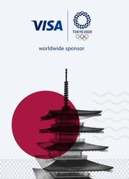 Выиграй поездку на<br> Олимпийские игры<br> в Токио 2020 от Visa
